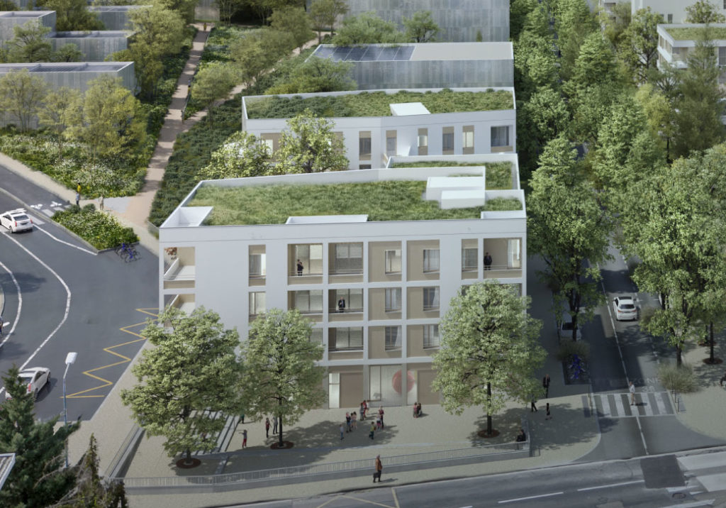 Perspective du projet urbain